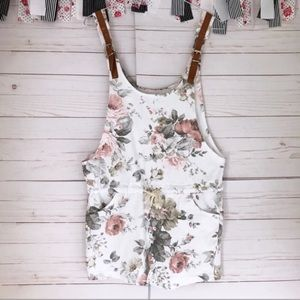 ISO - UO Floral Overalls